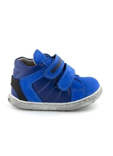 Cici Bebe Ayakkabı Civit Erkek Çocuk Bot Mavi